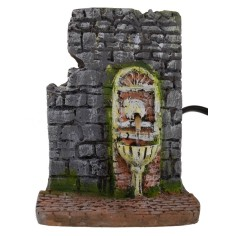 Fountain in functional resin for Presepe cm 9x11x12 h