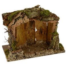 Cave for Presepe cm 33x18x26 h for Nativity series 10-12 cm