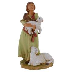 Donna con pecore 12 cm Fontanini