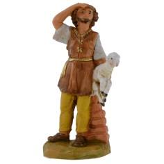 Pastore con pecora in braccio 9,5 cm Fontanini