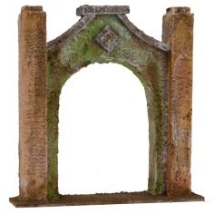 Arco d'ingresso cm 16,5x4x17 h per statue da 10 cm