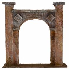 Entrance arch cm 16 ,5x4x17 h for statues from 10 cm