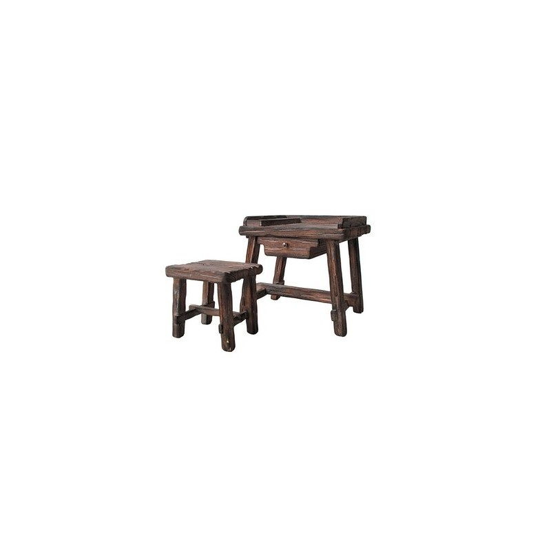 Artistic shoemaker bench for statues cm 15 -BC150