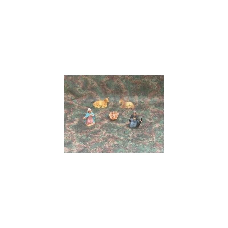 Mondo Presepi Natività cm 7 set 5 pezzi - Cod. ZN507
