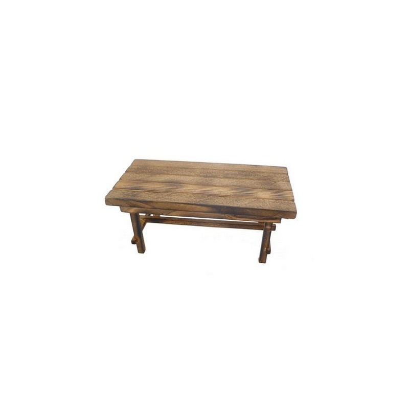 Lux wooden table 15x7.5x6.5 cm