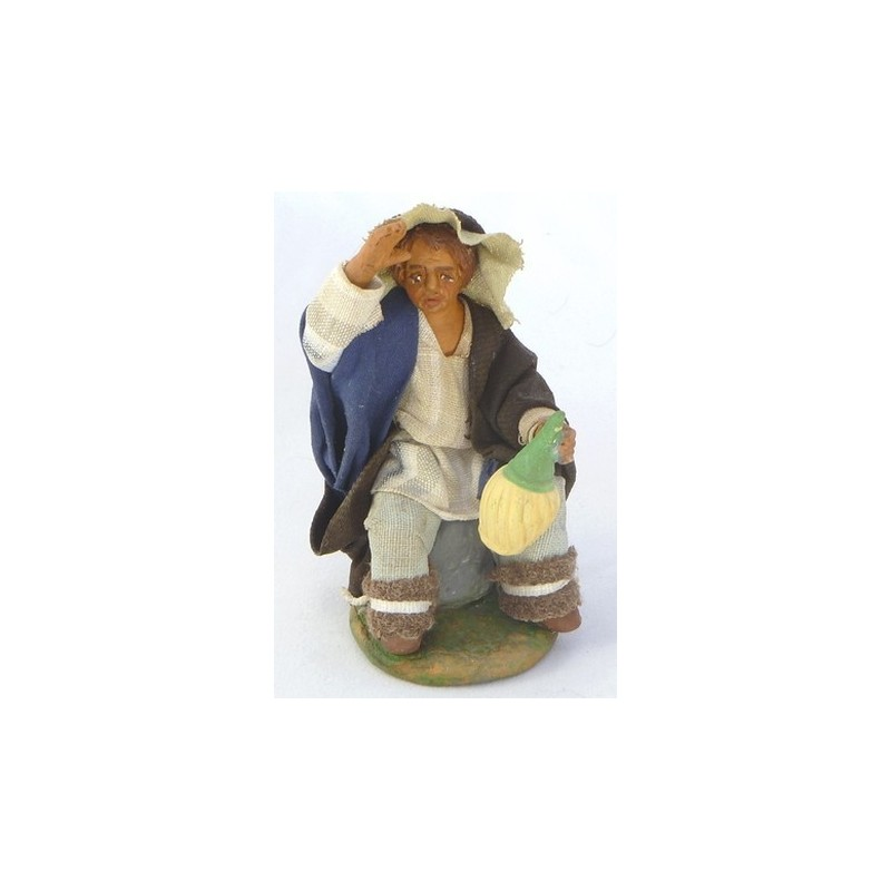 Man with Lux 12 cm flask - 41247