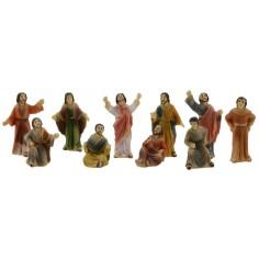 Statue Pasquali Gesù predicatore fra la folla 5 cm