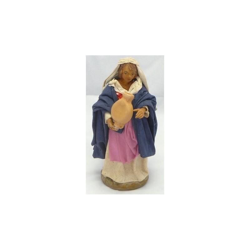 Donna con anfora Lux cm 12 - 41248