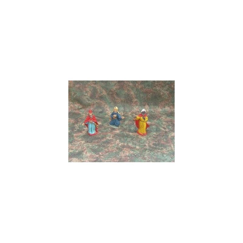 Mondo Presepi Tre re magi cm 7 - Cod. ZT307