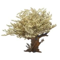 Mondo Presepi Albero con foglie h. 18 cm