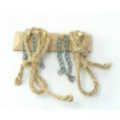 Mondo Presepi Appendino con corde e catene - M69
