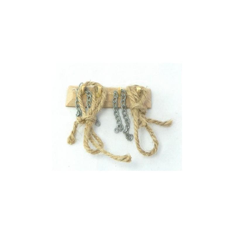 Appendino con corde e catene - M69