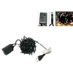 Chain 100 minilkilling LED hot white with games 220v.