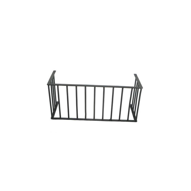 Balcony railing 13.5x6 cm