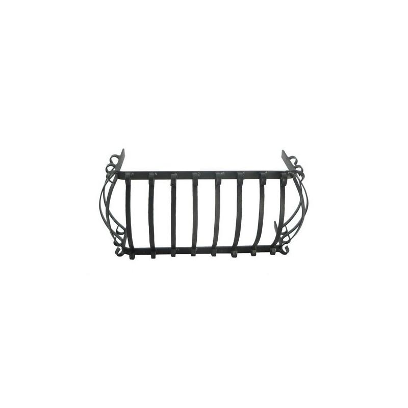 Small rounded balcony railing 12x4.5 cm -8967