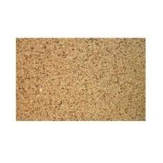 Flexible smooth cork panel cm 25x20x0,6-7