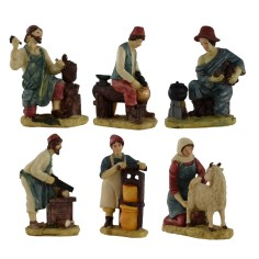 Sep 6 statues 15 cm presepe in resin