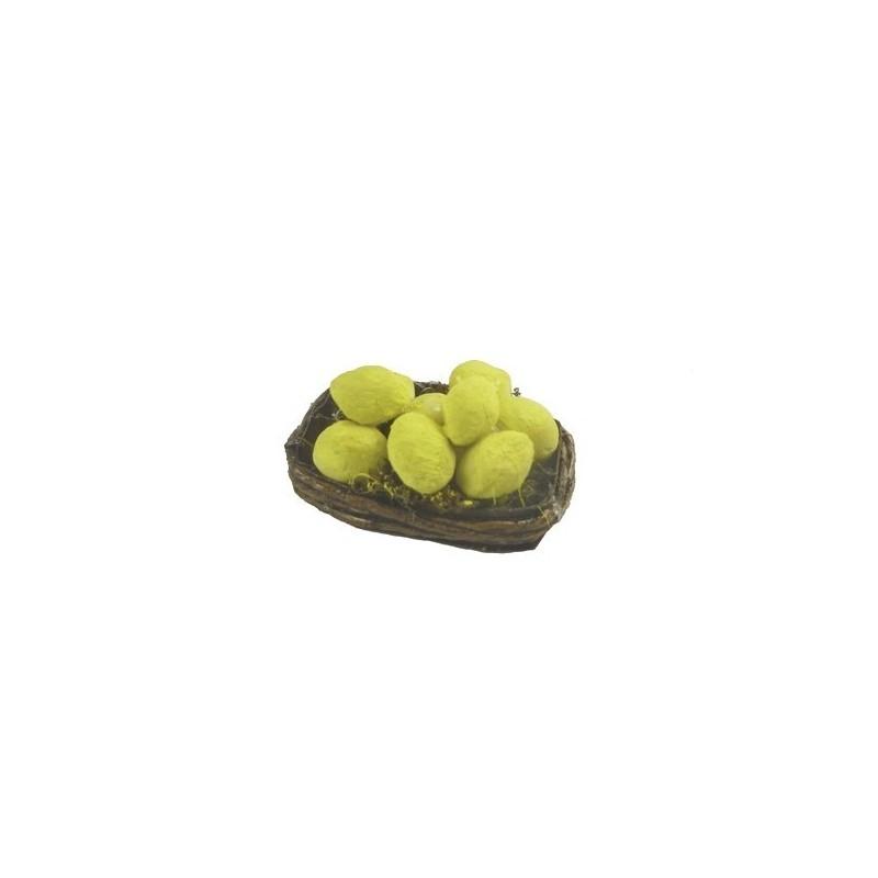 Mondo Presepi Cesto di limoni - D401