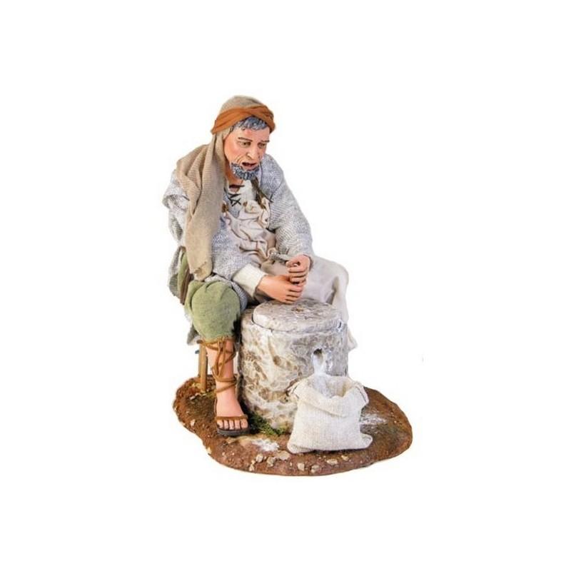 Man with millstone cm 30 -STV30 / 41 - Free shipping