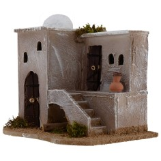 Arab house with dome and scale cm 20X14X18 h for statues from