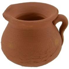 Terracotta jug 3 cm