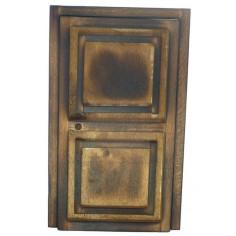 Door in aged wood cm 7,3x13x5 - T913