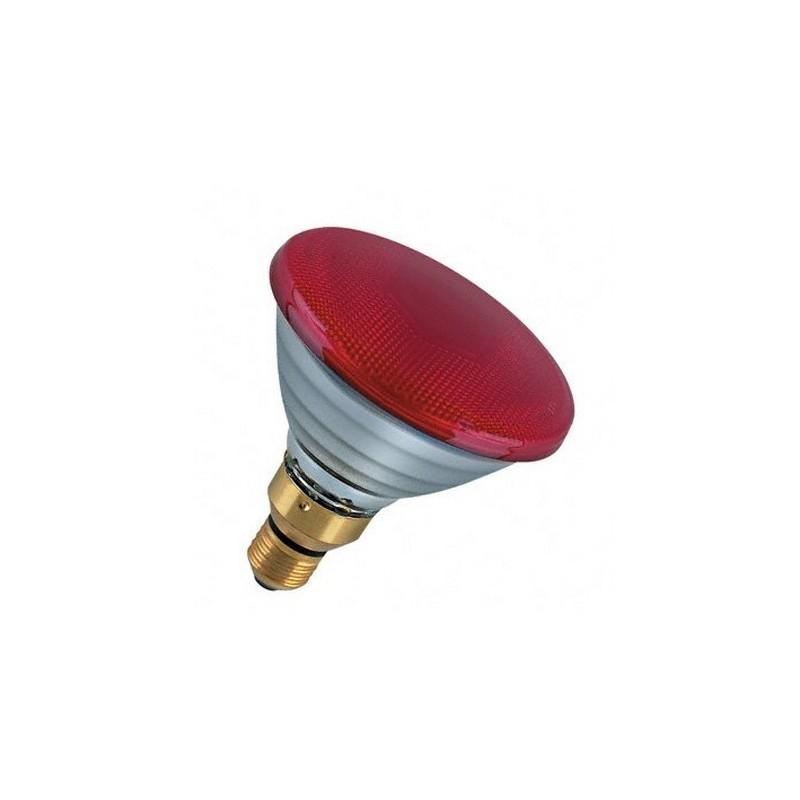 Lampada par38 rossa E27-80W Cod. PAR-R
