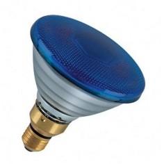 Lampada par38 blu E27-80W Cod. PAR-B