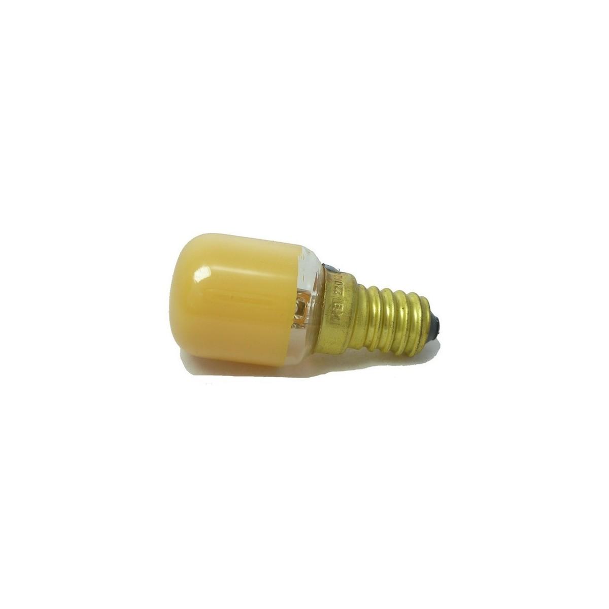 Lampada pera Arancio E14 attacco E14 15W - E14 - Mondo Presepi