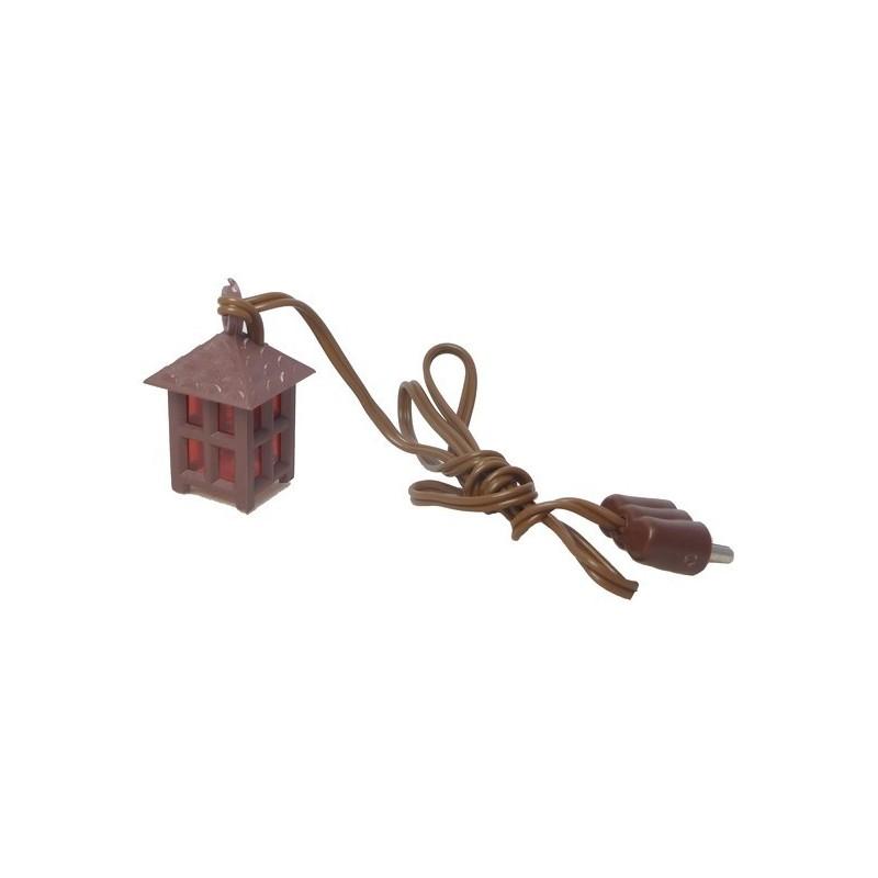 Lanterna piccola a luce rossa 3,5Volt - Cod. L02R