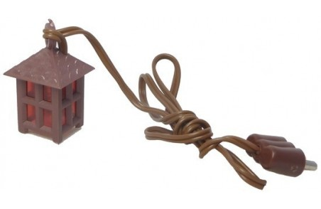 Small lantern with red light 3,5Volt - Cod. L02R