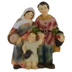 Famiglia in resina serie 8 cm