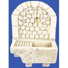 Fontana con lavatoio in Pietre