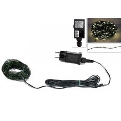 180 micro led warm white chain with 220v games.