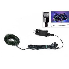 100 micro led multicolor chain with 220v games.