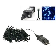 180 blue led chain with light effects for outdoor and indoor
