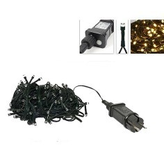 180 warm white led chain with light effects for outdoor and