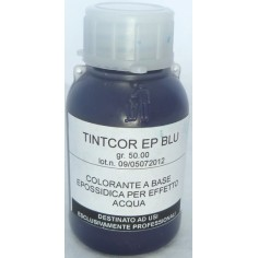 50 ml dye for water effect resin in the following colors: