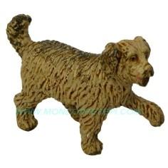 cane oliver in piedi