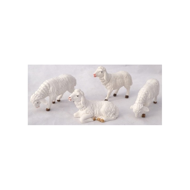 4 sheep nativity set - PG10