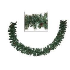 Ghirlanda Natalizia Siberiana con pigne 300 cm Mondo Presepi