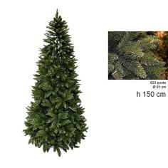 Albero di Natale pino Everest 150 cm rami 623 Mondo Presepi