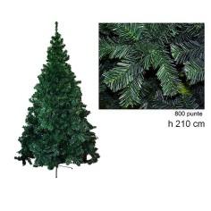 Albero di Natale pino della Norvegia 210 cm rami 800 Mondo