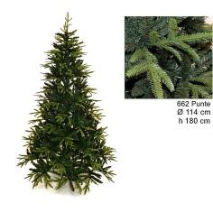 Albero di Natale Ximas 180 cm rami in pe e pvc 662 Mondo Presepi
