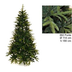 Christmas tree Ximas 180 cm branches in pe and pvc 662