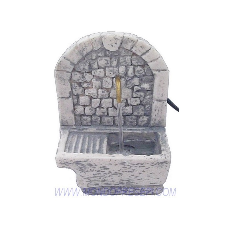 Functioning fountain with sink - FC82