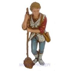 Pastore con bastone cm 8 Landi -0816-5