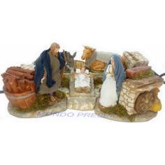 Nativity landi cm 10 in movement