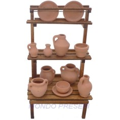 Big stall with Amphorae