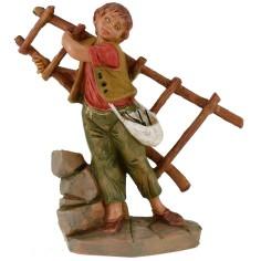 Boy with 12 cm Fontanini scale